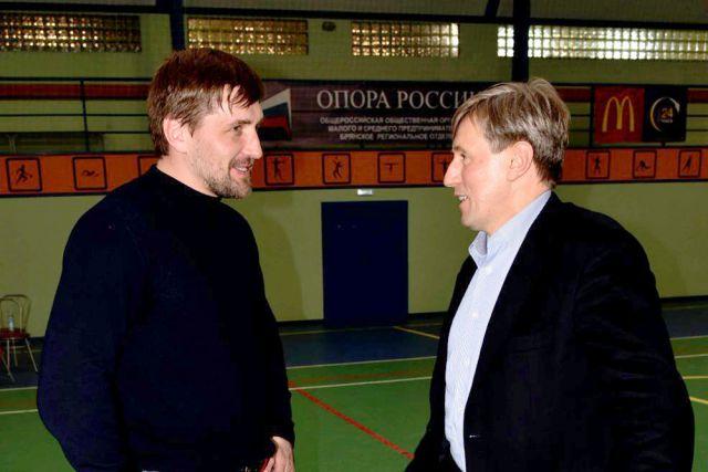 Виктор Гринкевич с Виталием Минаковым.