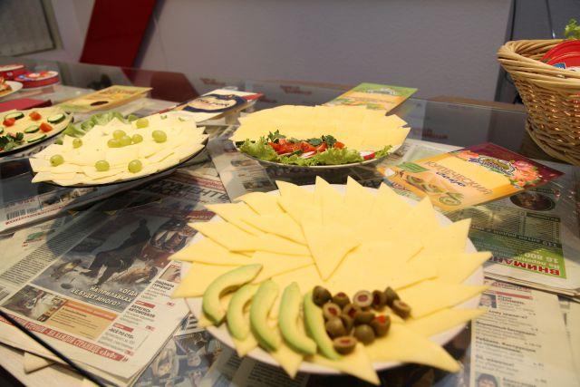 Сыр везли из Казахстана.