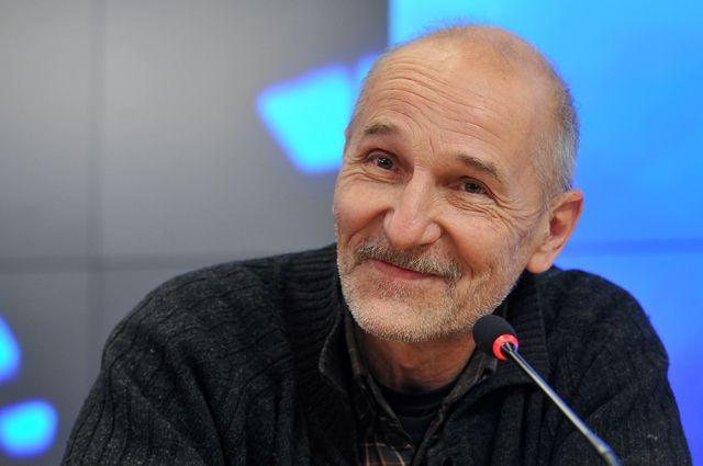 Артист и музыкант Петр Мамонов.