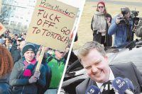 Первая жертва панамского офшорного скандала премьер-министр Исландии Сигмюндюр Гюннлёйгссон вынужден был уйти в отставку после митингов местного населения.