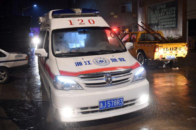 ВКитайской народной республике жертвами обрушения барака настройке стали два человека