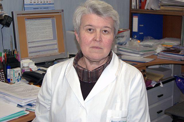 Вера Коденцова.