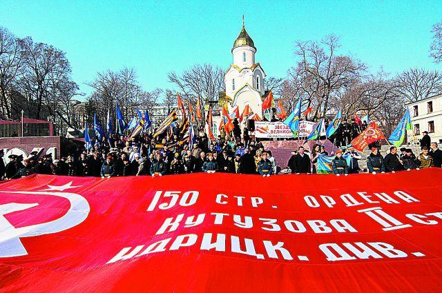 Знамя Победы проедет от Тихого океана до Кремля