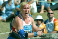Ирина Коржаненко на Олимпийских играх-2004.