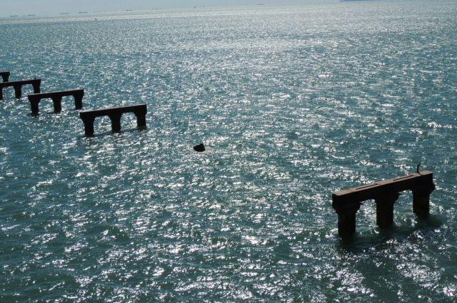 Компания, строящая Керченский мост, подала иск кTurkuaz Shipping