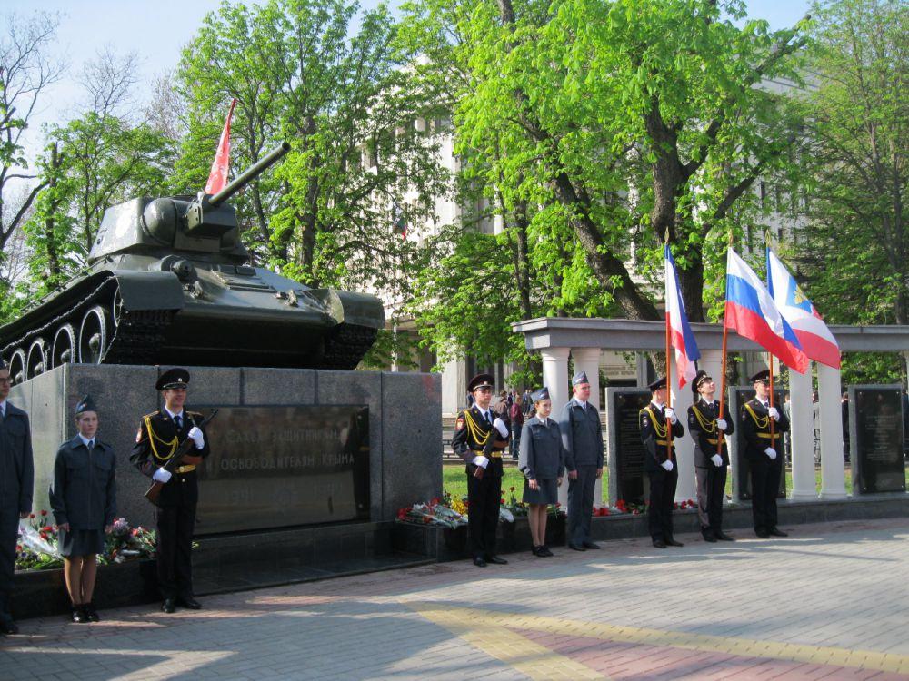 Сквер Победы и монумент Славы
