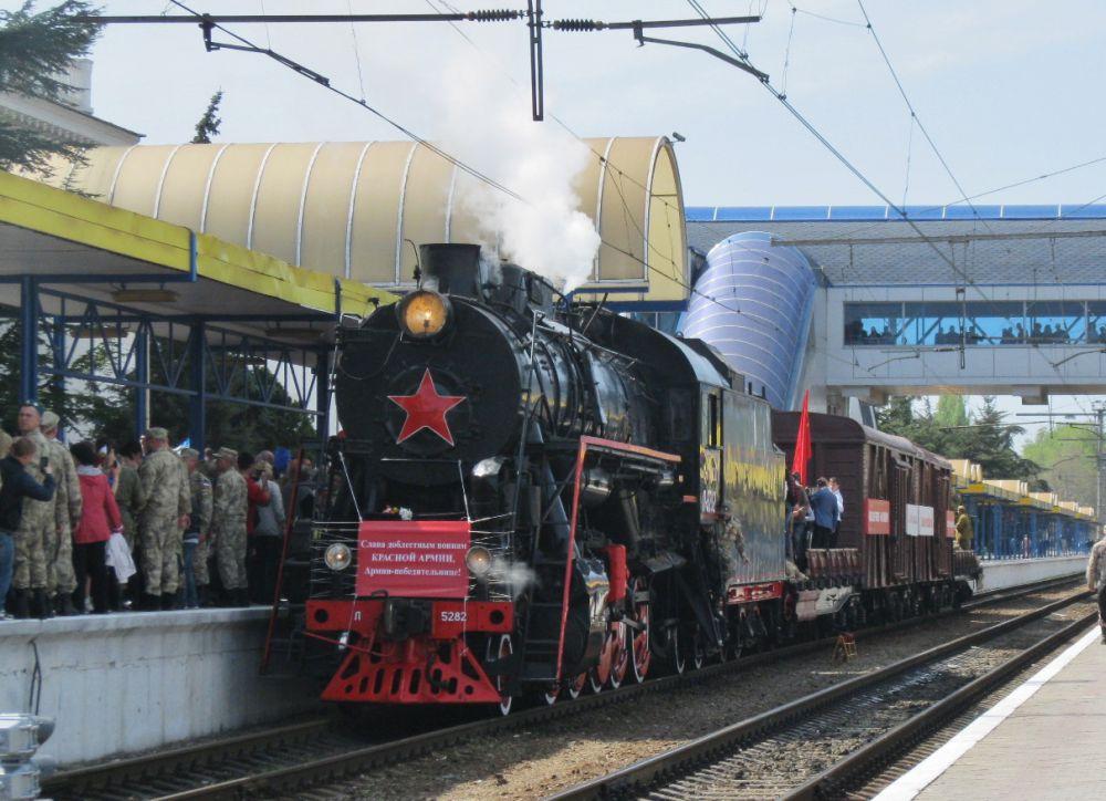 Дальше поезд отправится в Евпаторию и Севастополь