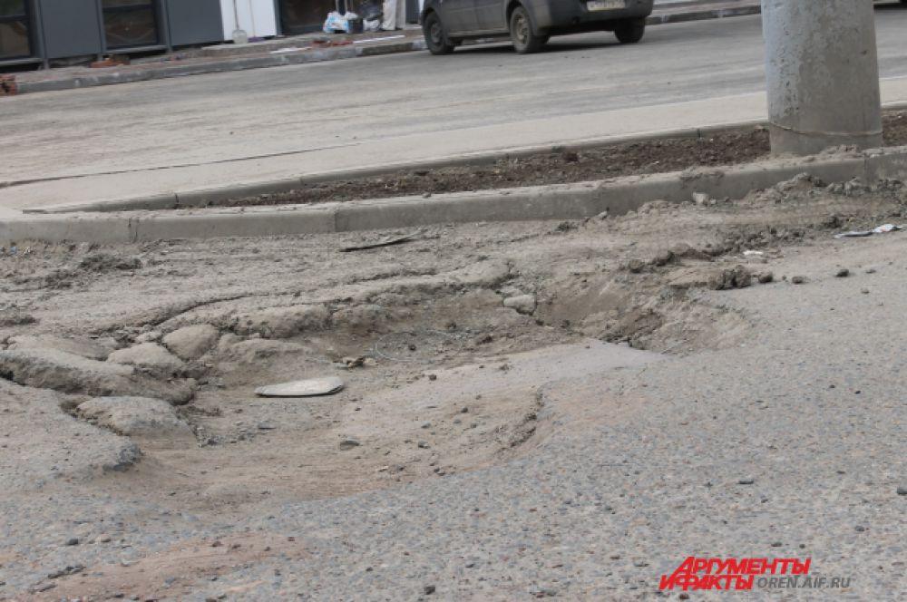 Проспект Победы после улицы Транспортной в сторону Степного