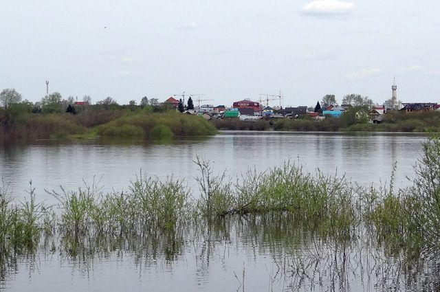 Неменее  200 домов подтоплено вОмской области
