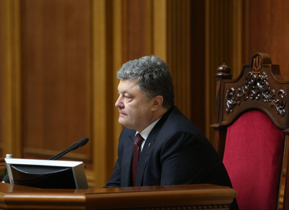 Петр Порошенко в Верховной Раде
