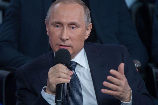 Путин объявил  о«серой полосе» в русской  экономике