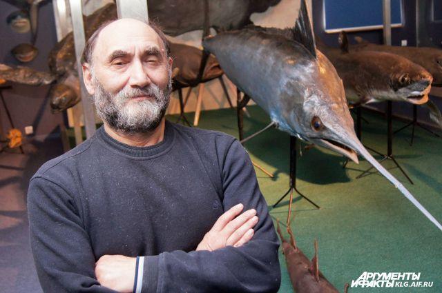 Ефим Кукуев собирает свою палеонтологическую коллекцию не один год.