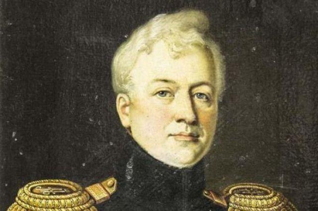Портрет князя Дмитрия Голицина. Рисс Франц