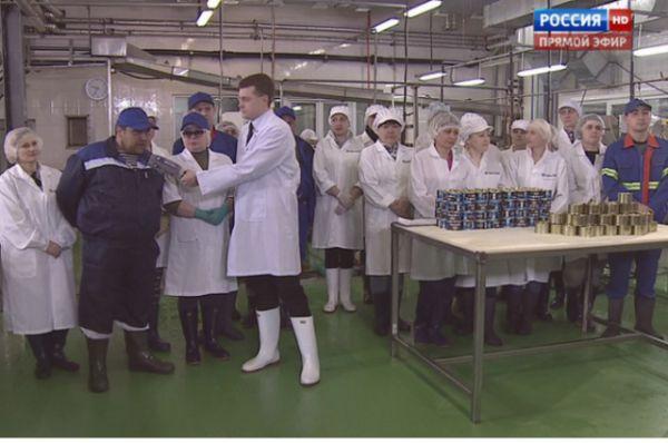 По факту грубого нарушений трудового законодательства в Сахалинской области уже заведено уголовное дело, о чём сообщили в ходе эфира.