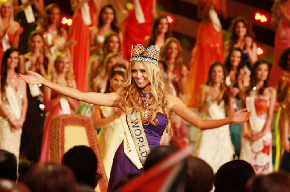 «Мисс Мира 2008» Ксения Сухинова, Россия