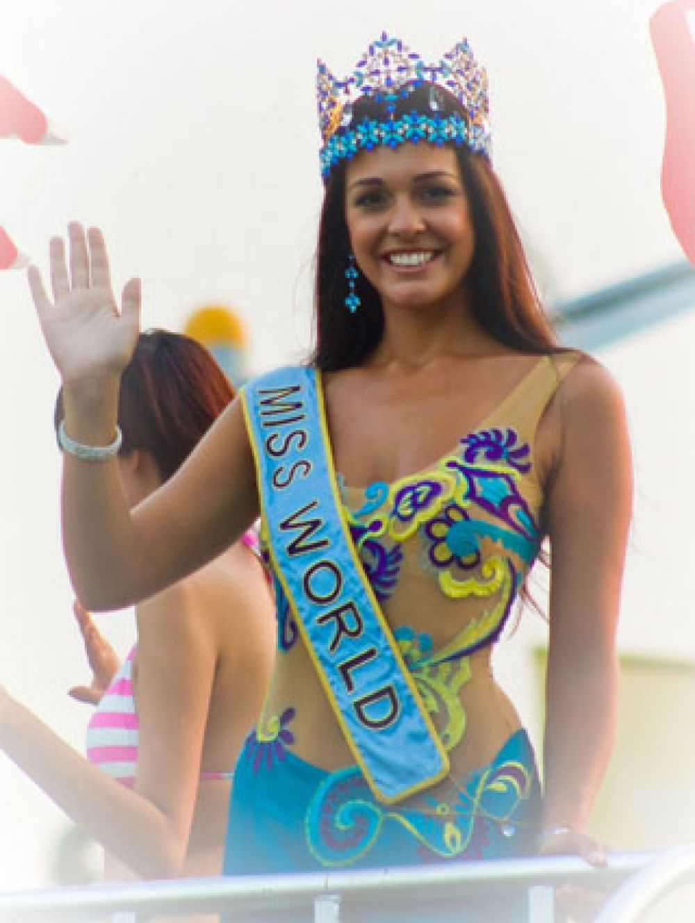 «Мисс Мира 2009» Кайане Алдорино, Гибралтар