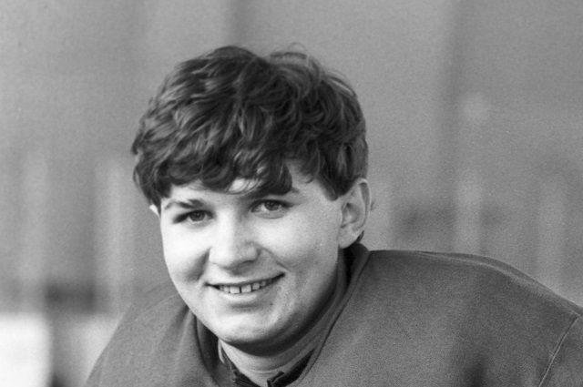 Евгений Белошейкин. 1987 год.