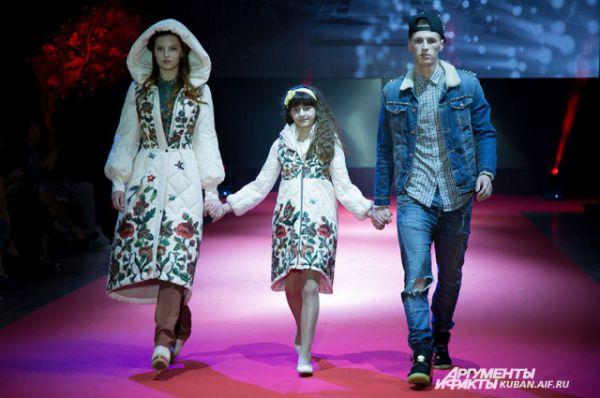 Мода для всей семьи. Совместная работа московских дизайнеров Натальи Новиковой и Владимира Гуды.