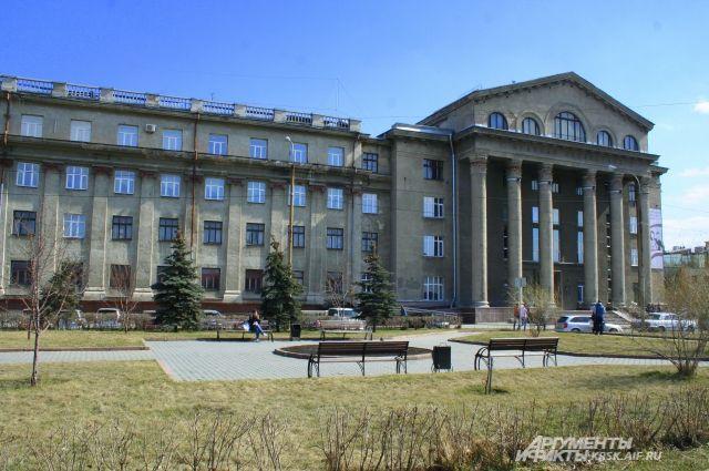 Весна в Красноярске