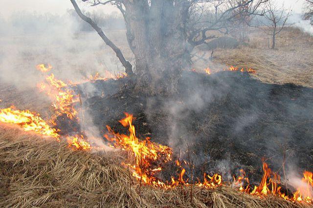 Особенно опасен огонь возле воинской части