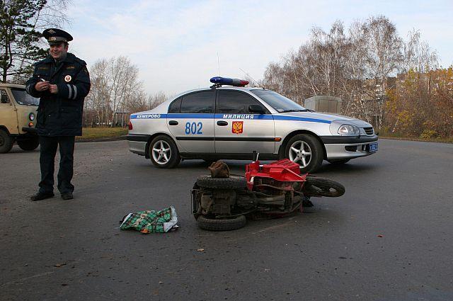 Авария произошла в Тюкалинском районе.