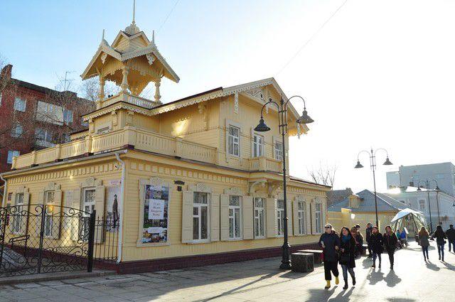 Старинное здание своего музея выбрал сам Кондратий Белов.