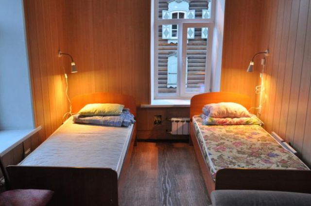 Хостел 52°17' в Иркутске.