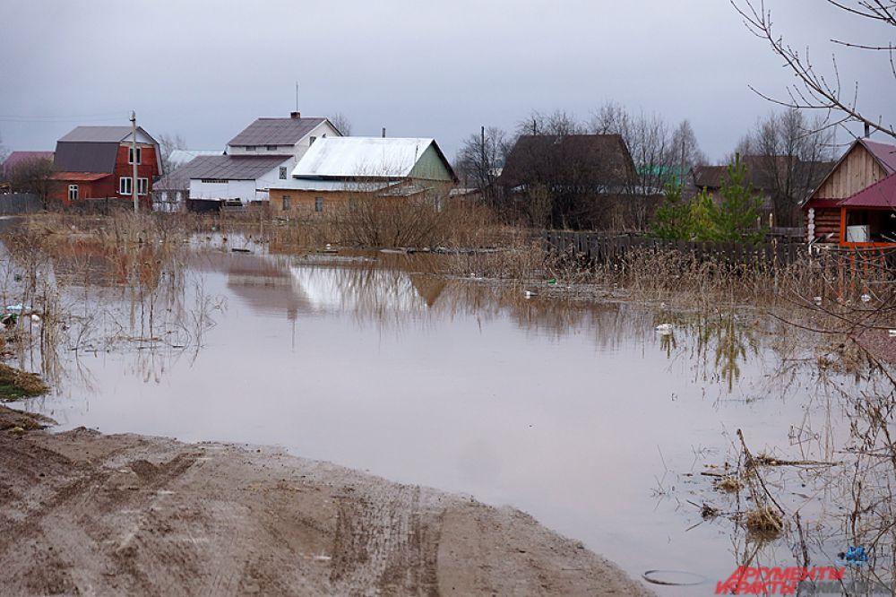 Под сильный удар стихии попали сразу несколько районов – Кудымкарский, Кунгурский, Пермский и другие.