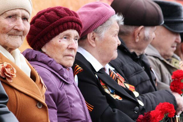 ветераны ВОВ