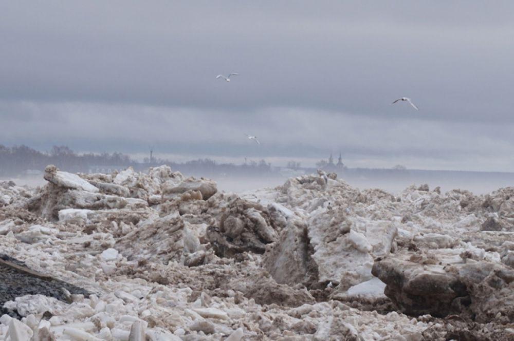 Владимир Пучков отметил, что в настоящее время фиксируется снижение уровня воды. Минус 13 см в Великом Устюге и минус 42 см в районе Красавино.