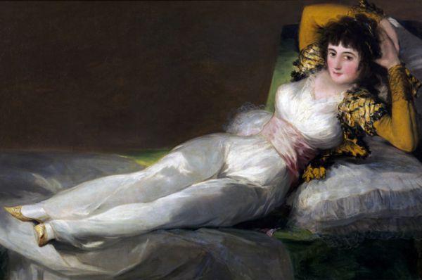 Которая составляет пару с его же картиной «Маха одетая»  (около 1800 – 1805).
