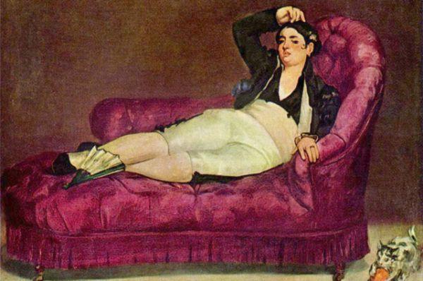 Которая в свою очередь оказала сильное влияние на Эдуарда Мане, создавшего «Девушку в испанском костюме» (1862 – 1863).