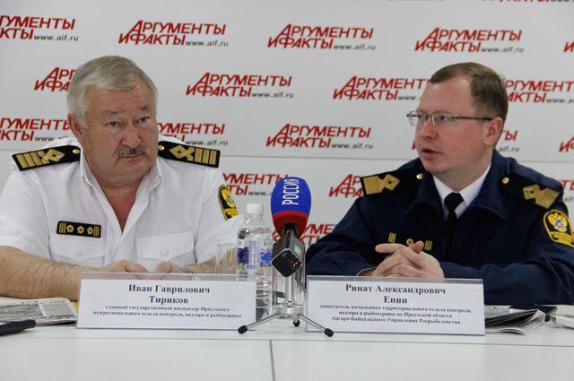 Иван Тириков и Ринат Енин