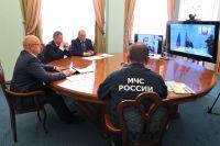 Совещание проходило в режиме видеоконференции.