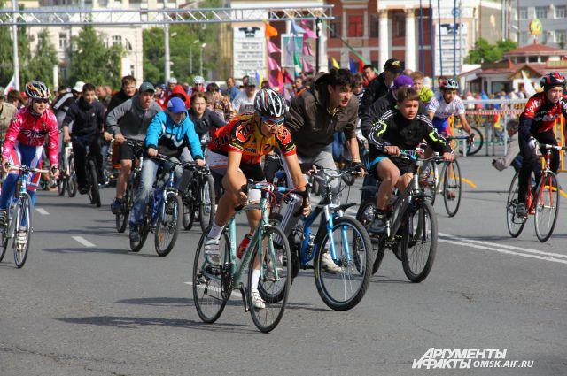 Скоро в городе состоятся настоящие велопраздники.
