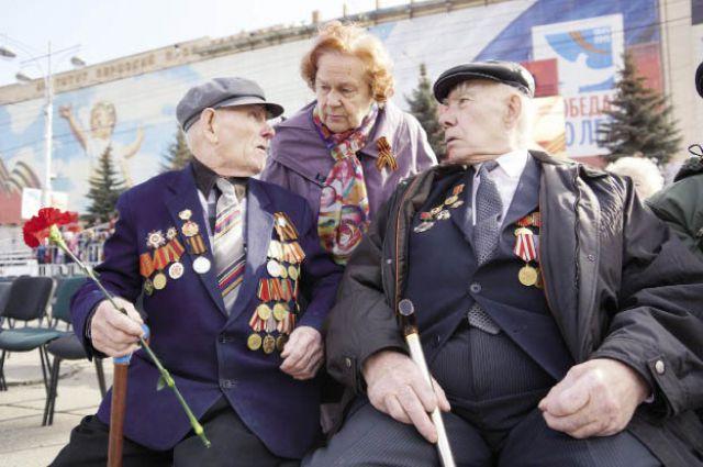Ветераны желают молодому поколению никогда не знать ужасов войны.