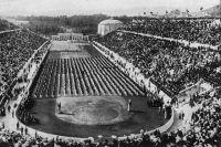 Стадион «Панатинаикос». Афины, 1906 год.