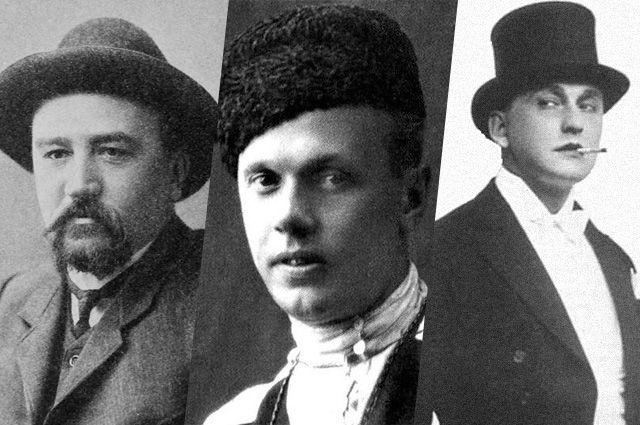 Александр Куприн,  Яков Слащёв, Александр Вертинский.