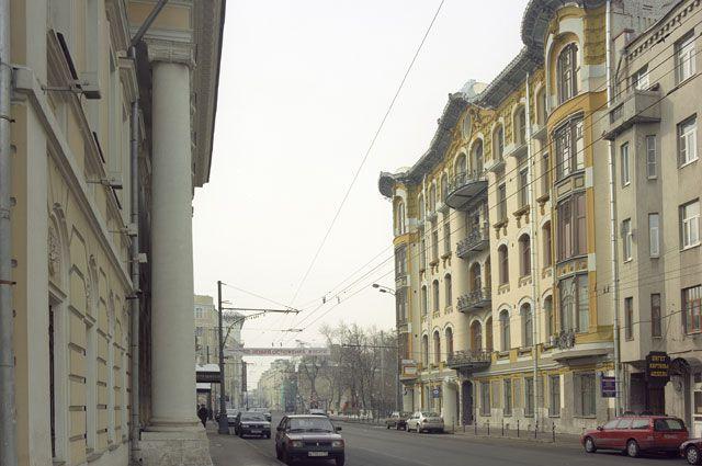 Дом Исакова на ул. Пречистенке. Современный вид.