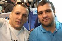 Василевский и Футин дружат давно. А теперь и тренируются вместе.