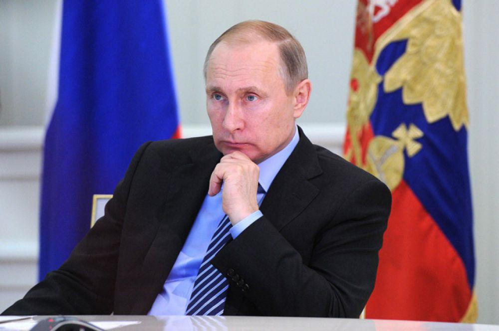 Российский лидер Владимир Путин — 29-е.