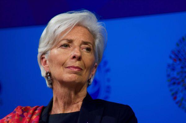 Глава Международного валютного фонда (МВФ) Кристин Лагард.
