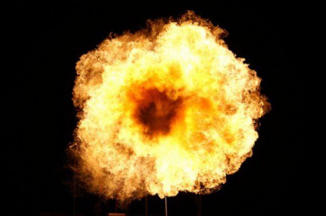 Взрыв произошел в ночь на 22 апреля