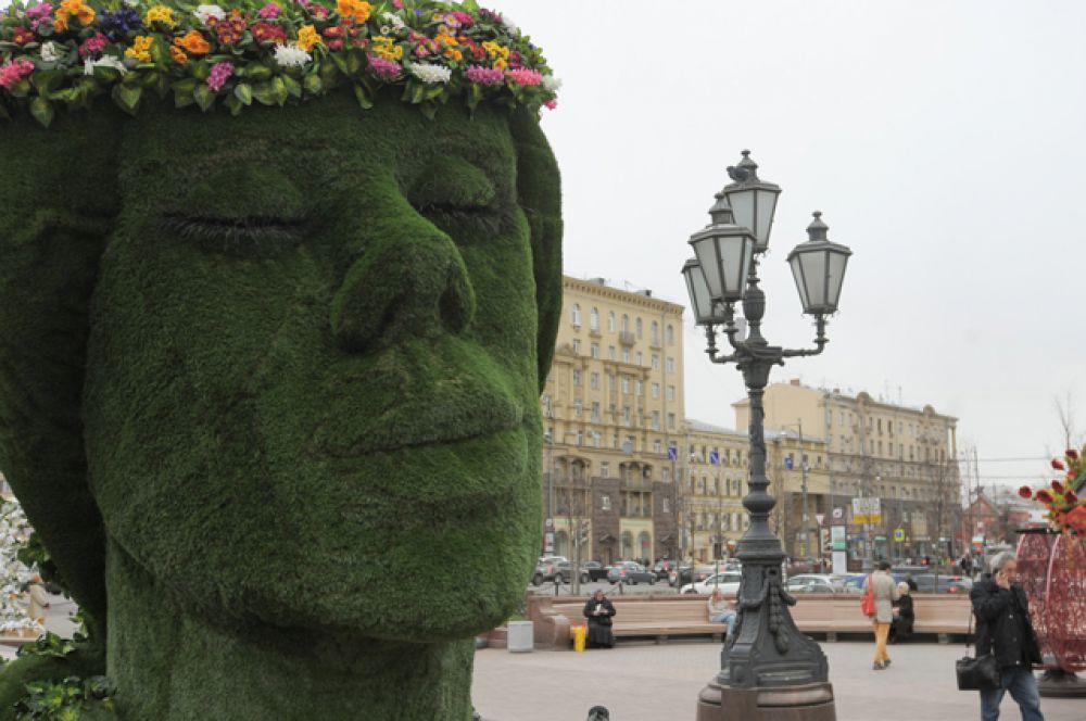 Площадка «Юность весны» на Пушкинской площади.