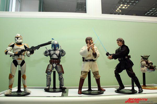Одна из площадок была посвящена фантастической саге «Звёздные войны».