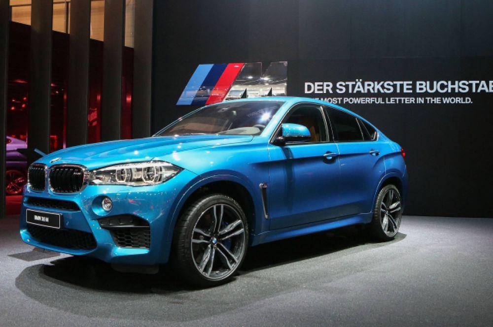 Еще один автомобиль из декларации Станислава Короткова - BMW X6 M.