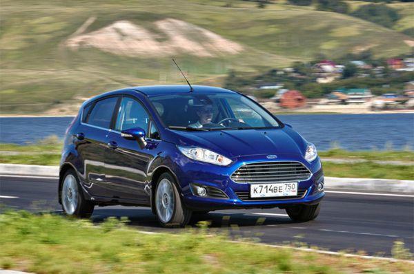 У Сергея Федюшкина в собственности есть Ford Fiesta.