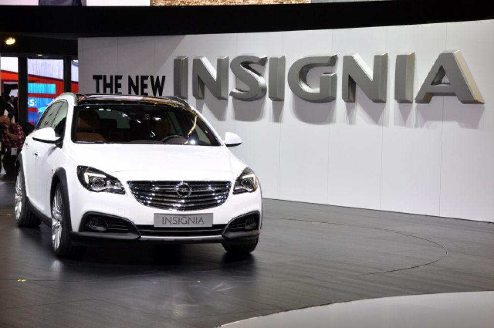 Opel Insignia есть у Станислава Короткова.