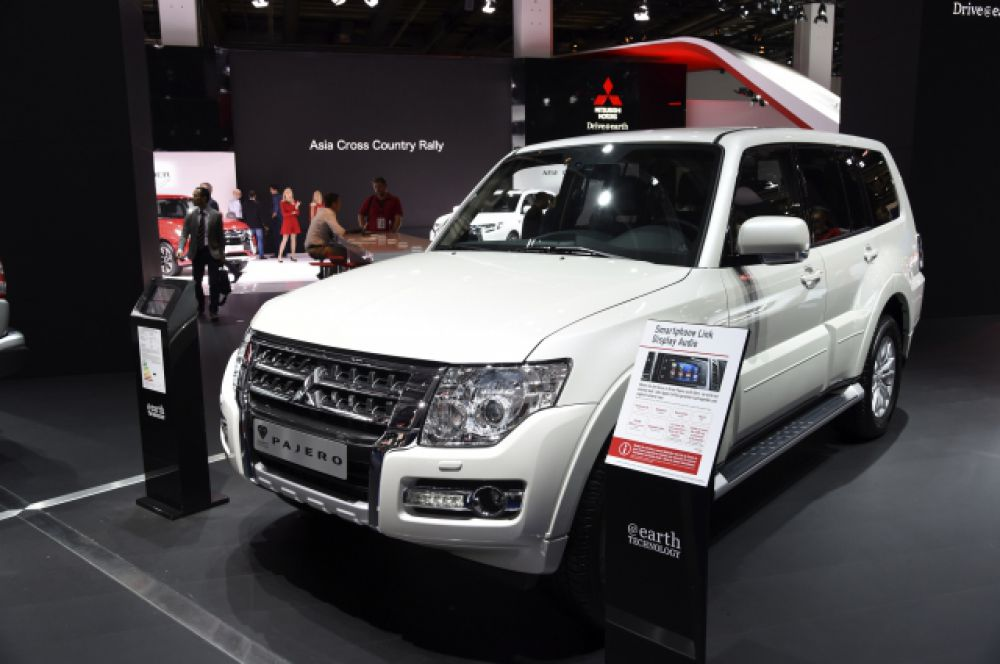 Mitsubishi Pajero есть у Владимира Попова.