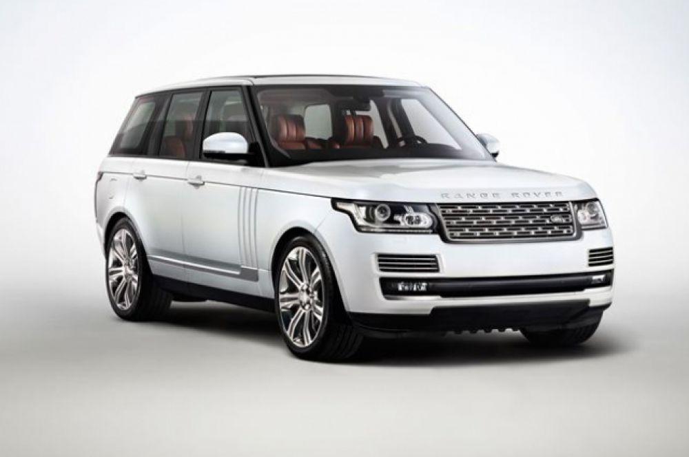 """Range Rover есть в собственности у самого """"богатого"""" депутата Владимира Осьмакова."""